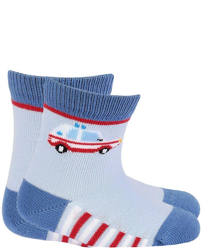 dětské ponožky vzor WOLA ZÁCHRANKA 15-17