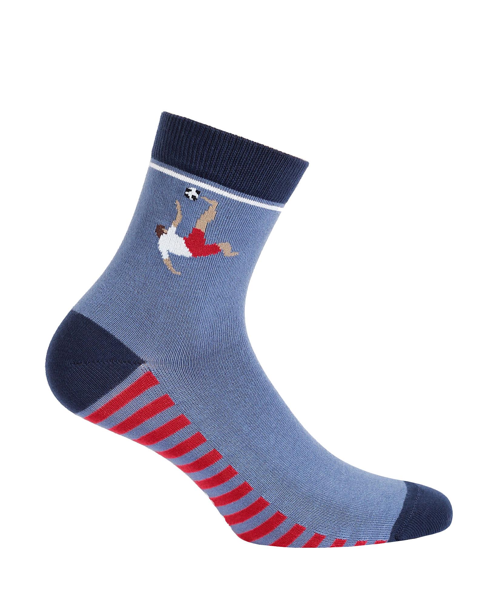 Vzorované ponožky WOLA FOTBALISTA 21-23