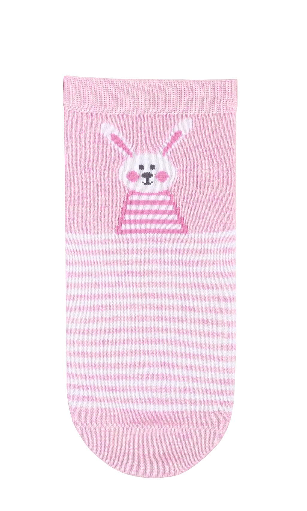 dětské ponožky vzor GATTA ZAJÍČEK růžové 24-26