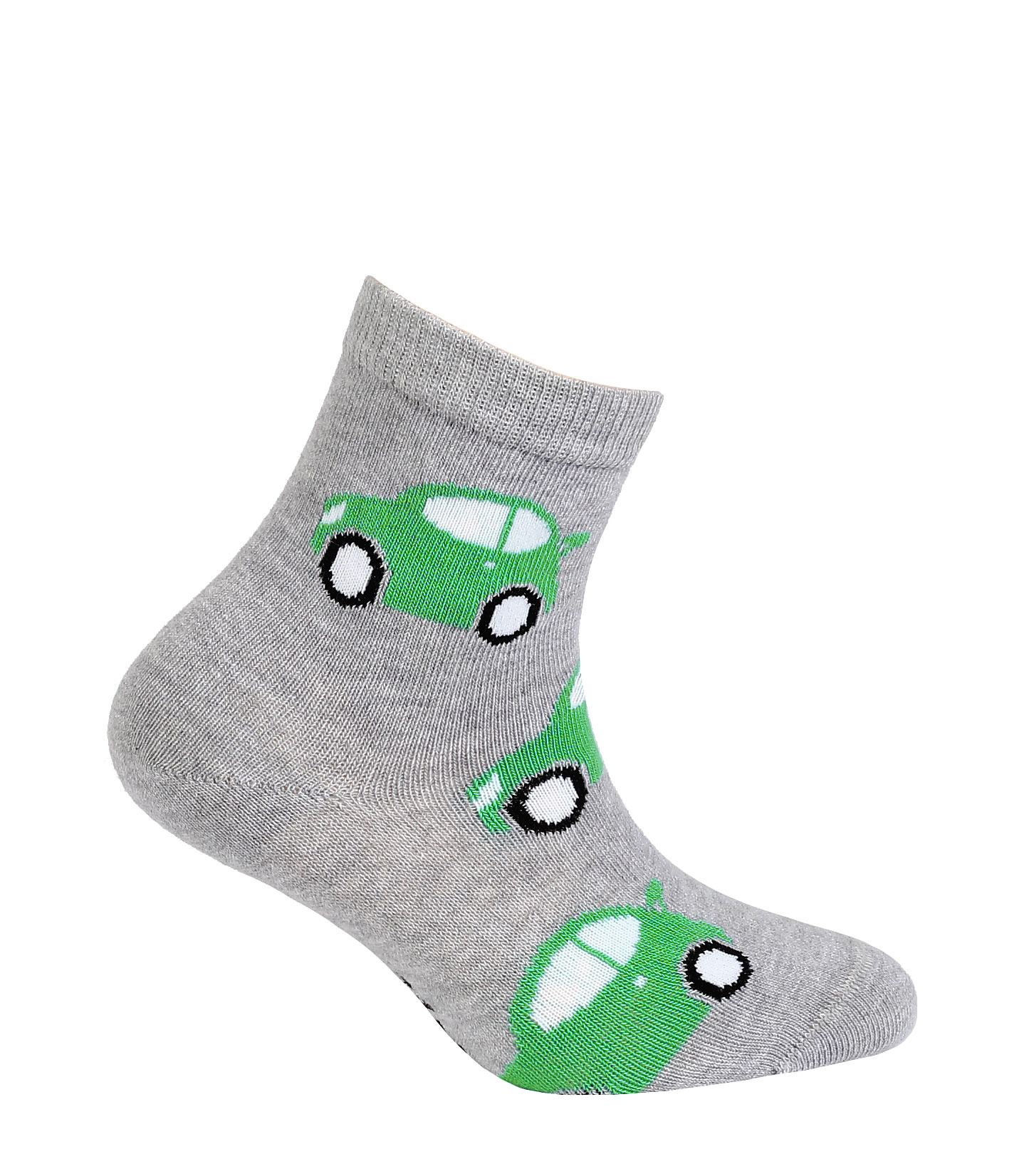 dětské ponožky vzor GATTA AUTA šedé 24-26