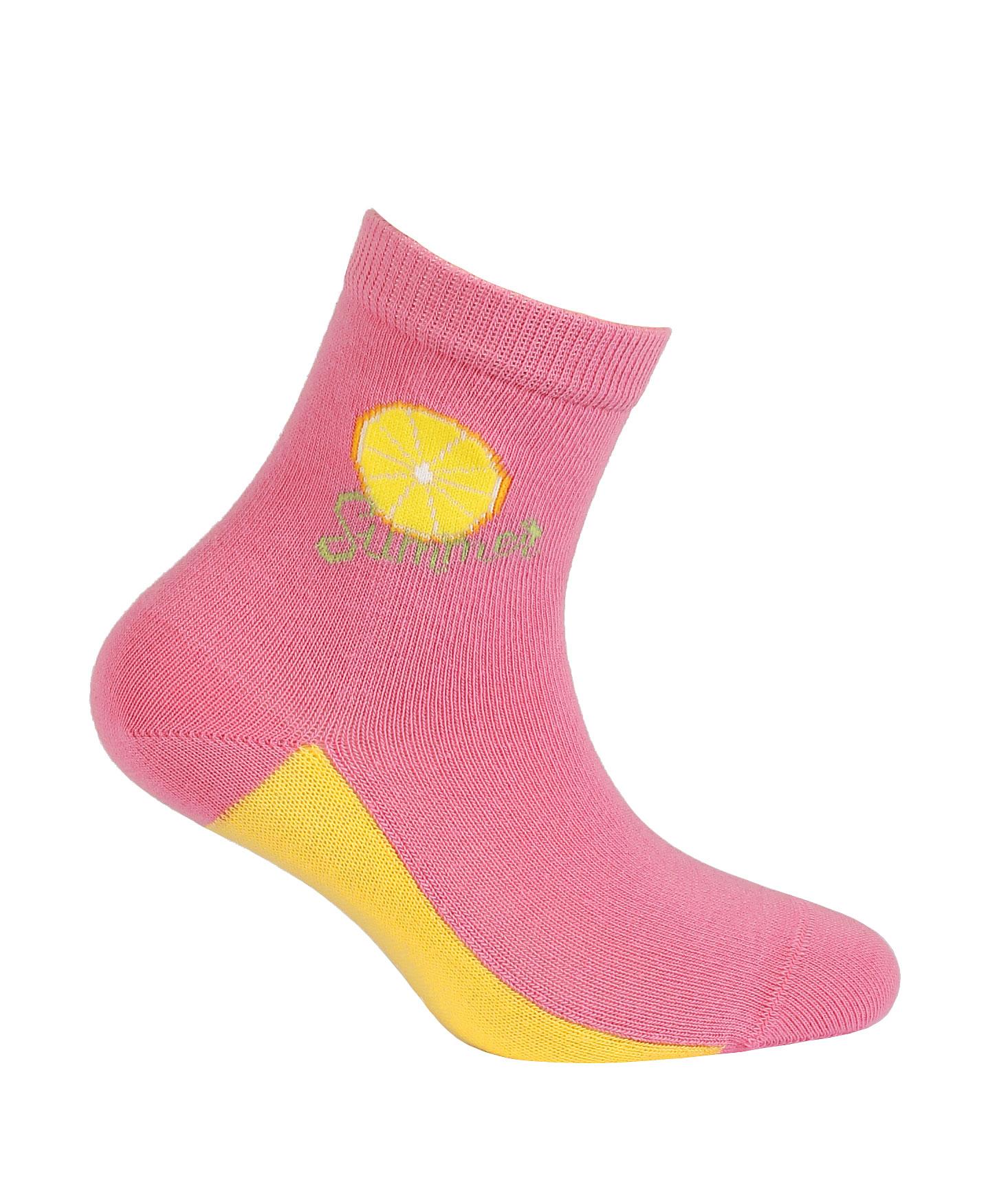 dětské ponožky vzor WOLA SUMMER LEMON 21-23