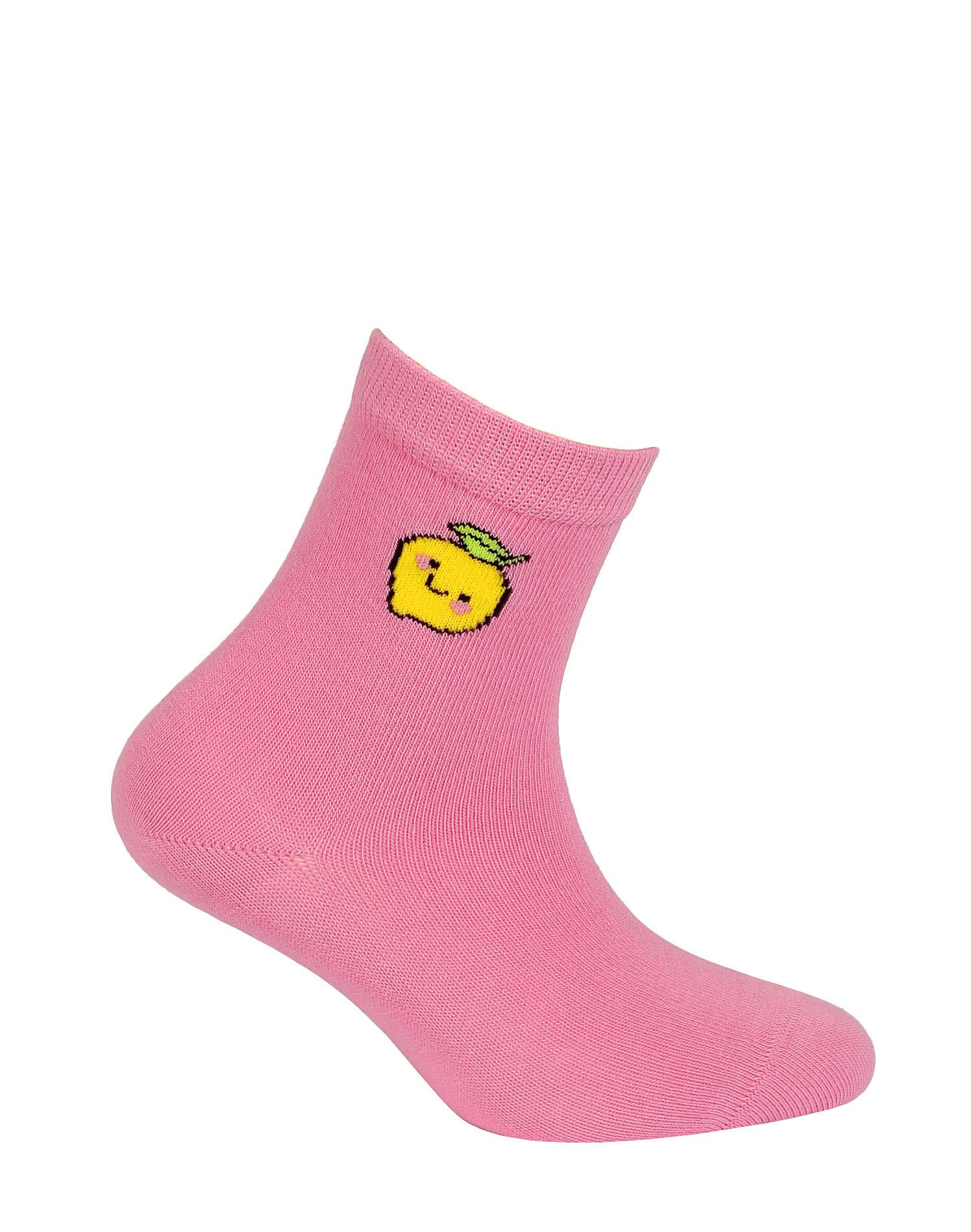 dětské ponožky vzor WOLA CITRON 21-23
