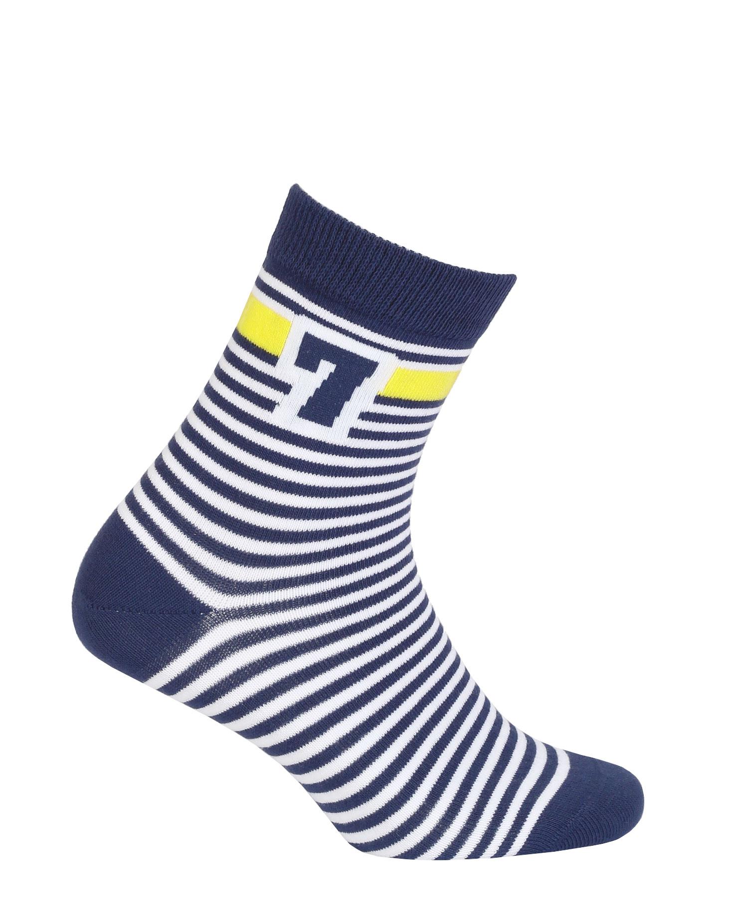 dětské ponožky vzor WOLA SEDMIČKA 21-23
