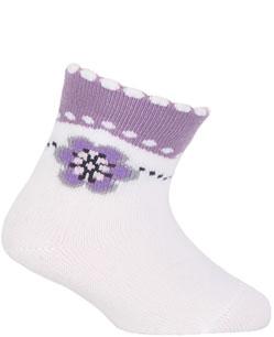 kojenecké ponožky vzor GATTA KYTIČKA 15-17