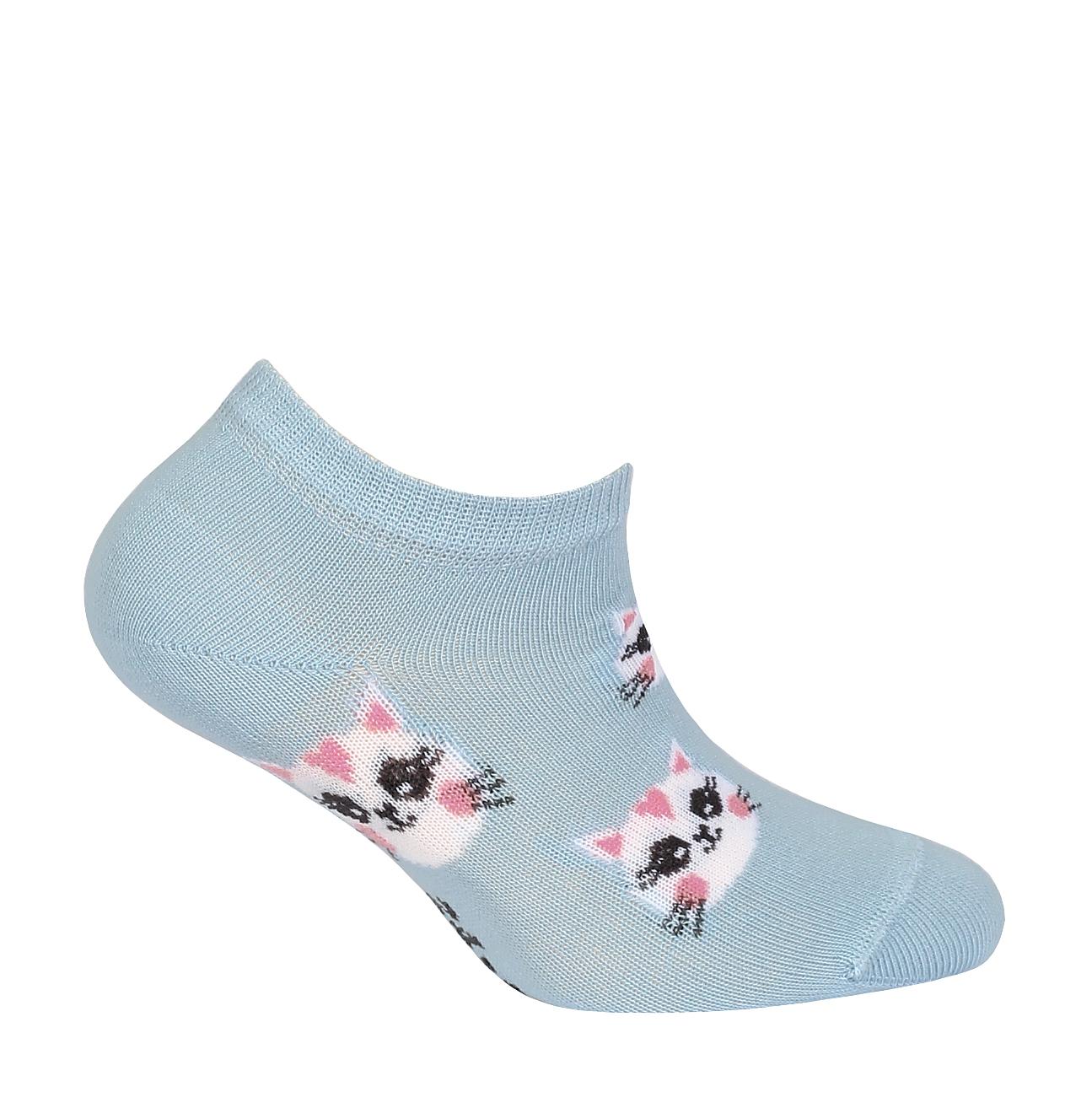 dětské ponožky kotníkové WOLA KOČIČKY 21-23