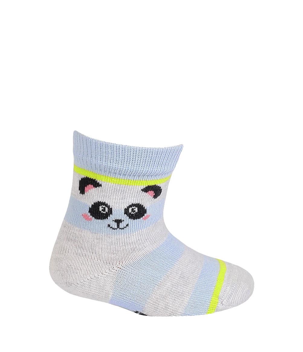 kojenecké ponožky vzor WOLA PANDA 18-20