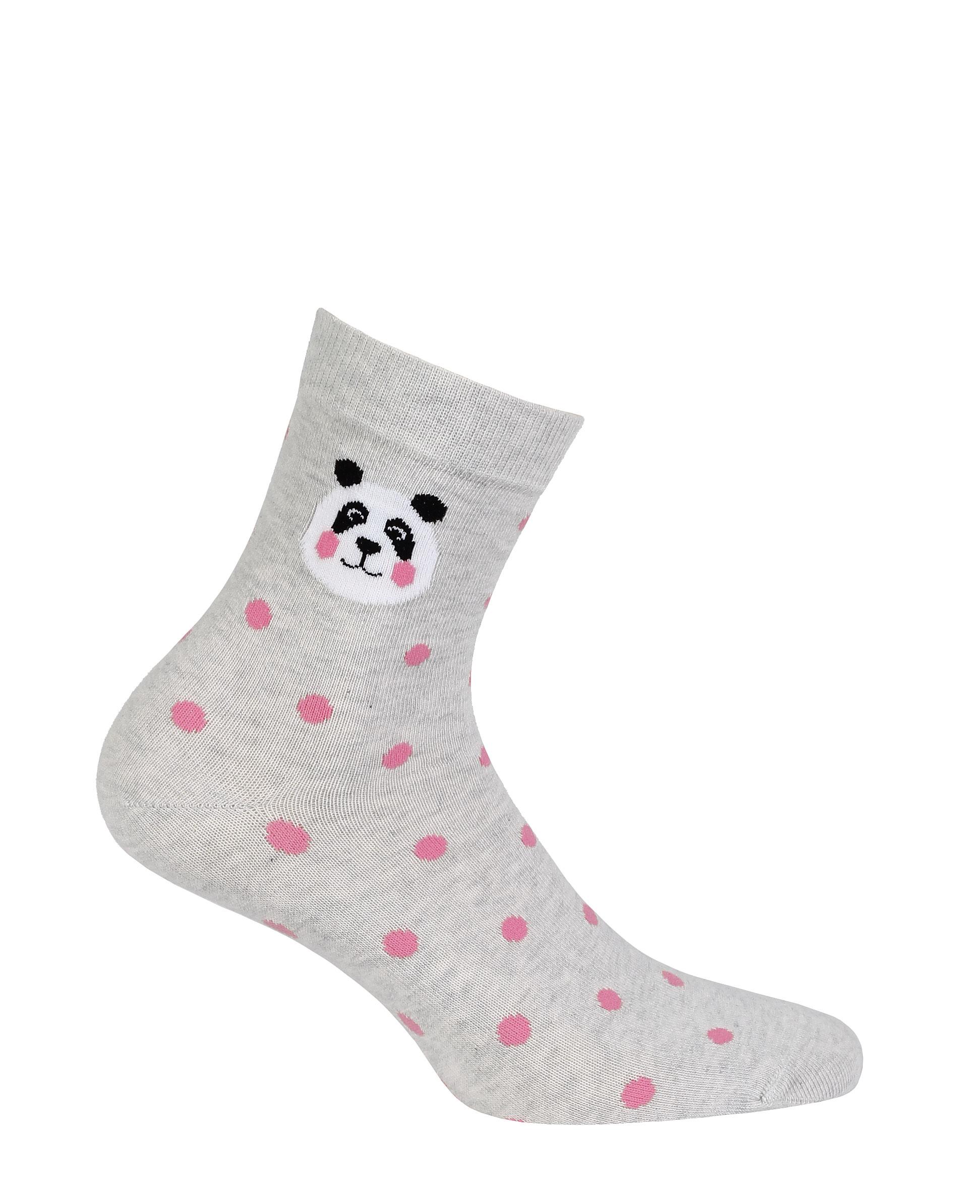dětské ponožky vzor GATTA PANDA, PUNTÍKY 33-35