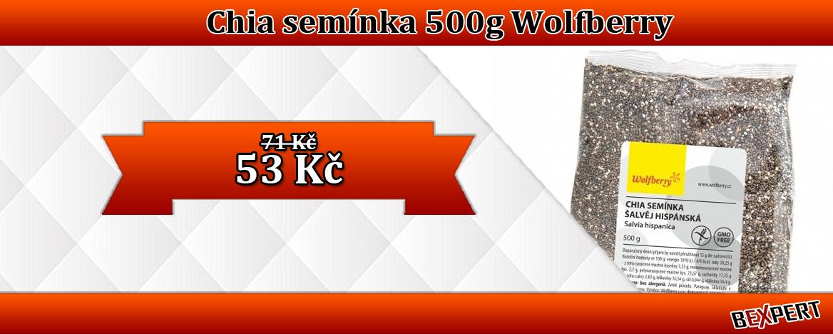 CHIA SEMÍNKA WOLFBERRY 500 G