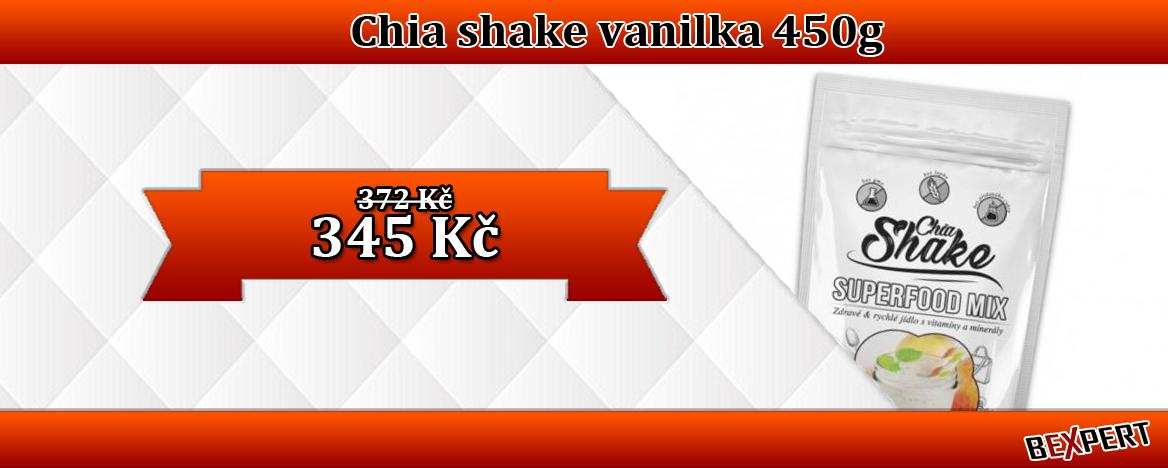 CHIA SHAKE SLIM - VANILKA 450 G