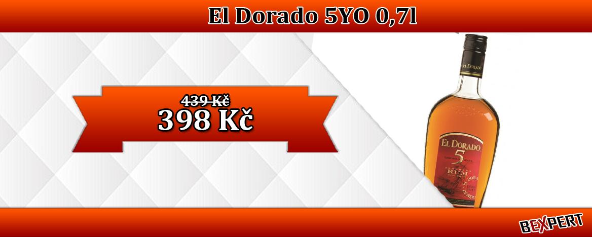 Rum El Dorado 5 letý 0,7 l