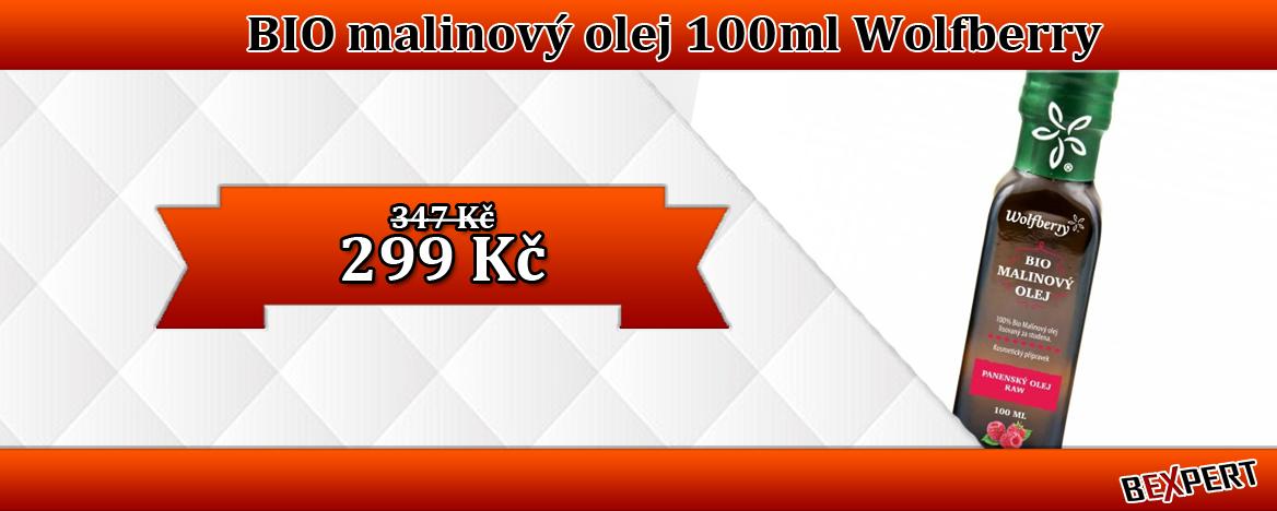 BIO MALINOVÝ OLEJ 100ML WOLFBERRY
