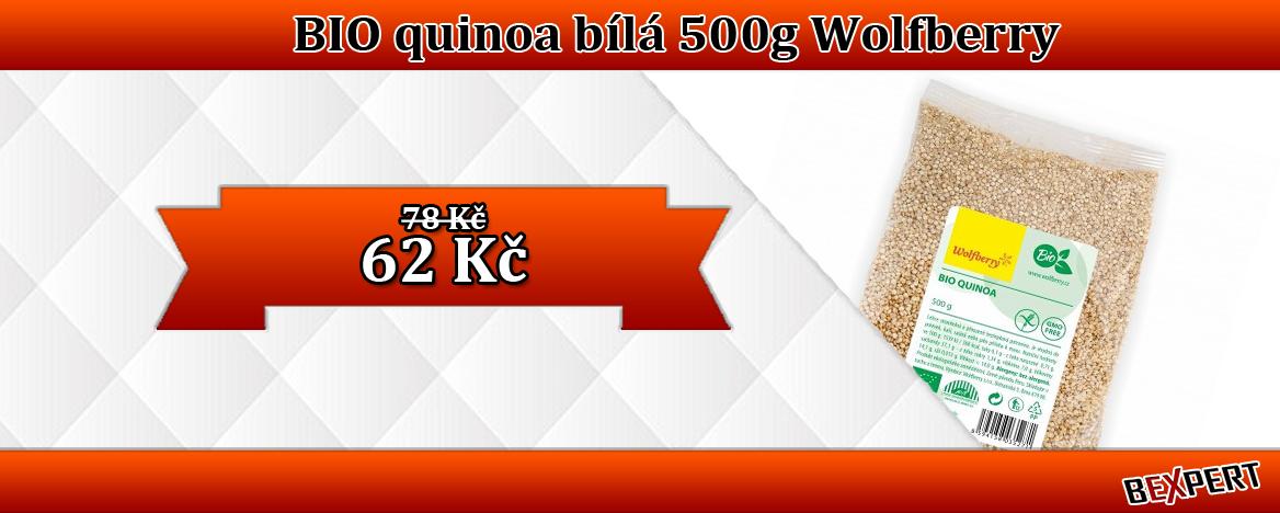 BIO QUINOA BÍLÁ 500G WOLFBERRY