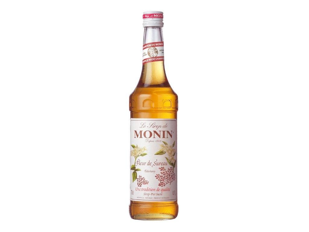 Monin Elderflower - bezinka 1 l