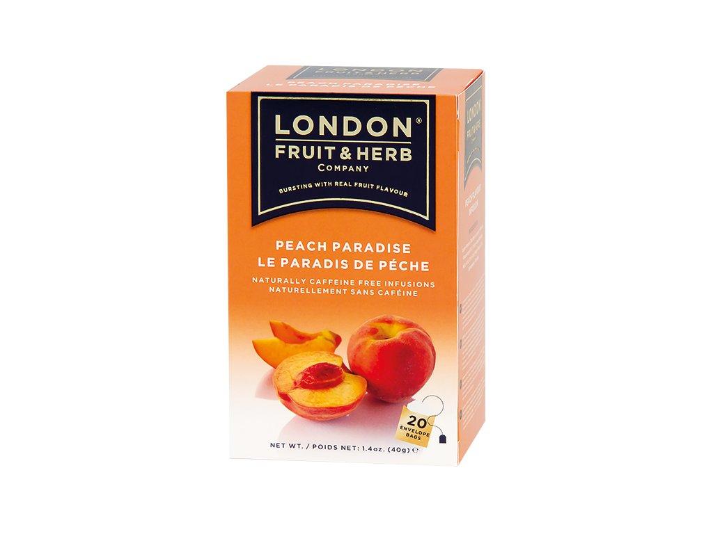 Čaj Peach Paradise - broskev 20 sáčků London fruit and herbs