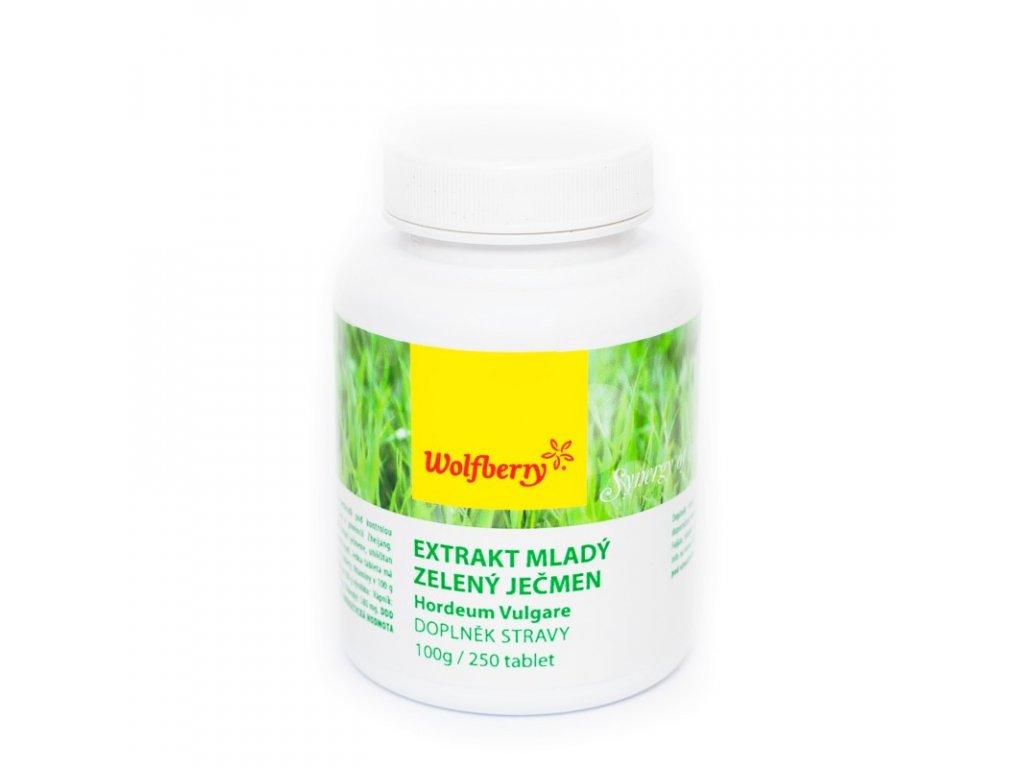 mlady jecmen wolfberry 250 tablet doplnek stravy