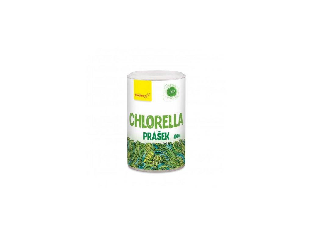 chlorella prasek bio 100 g wolfberry
