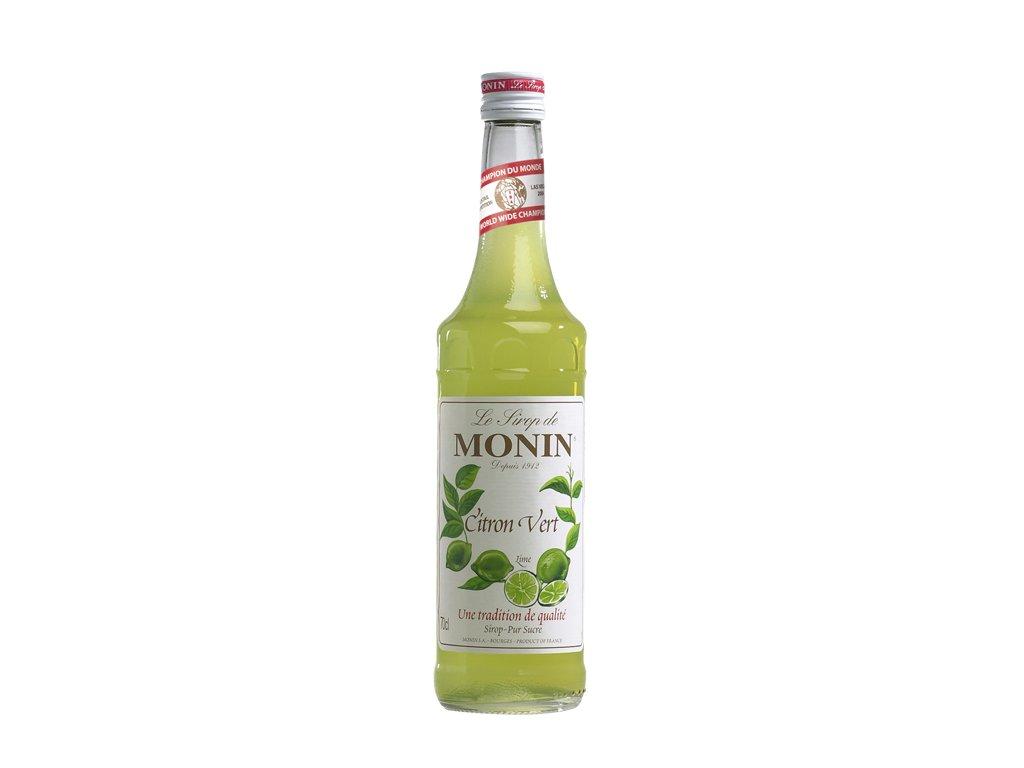 Monin Citron Vert - Limetka 0,7 l