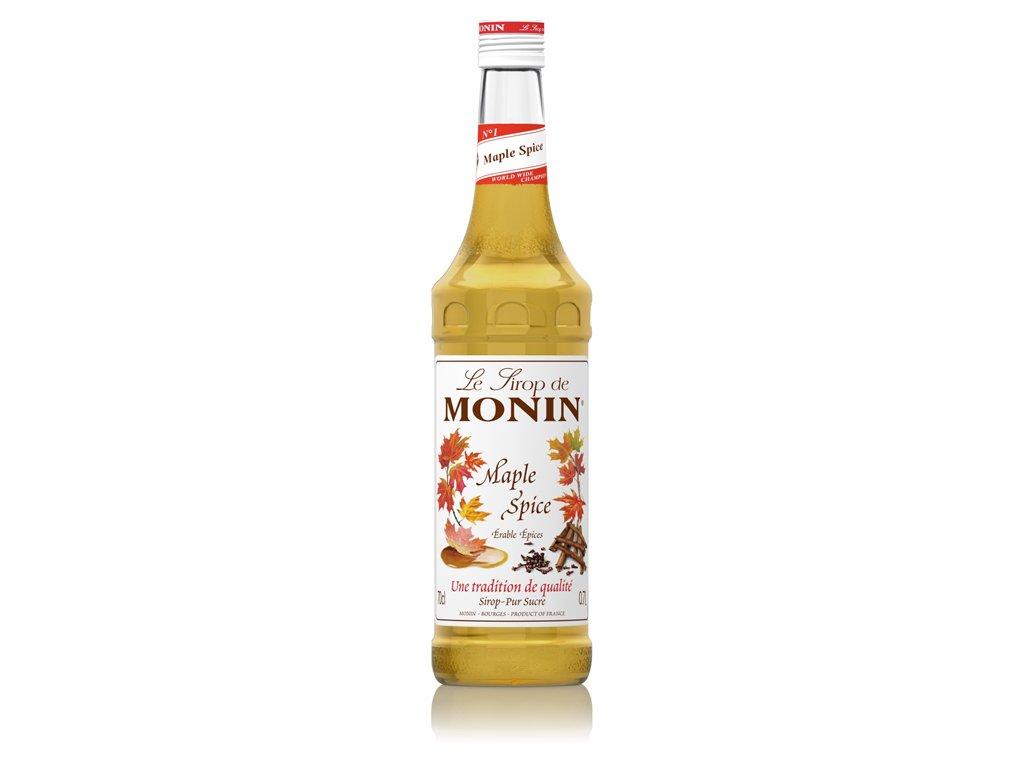 Monin Maple Spice - kořeněný javorový sirup 0,7 l