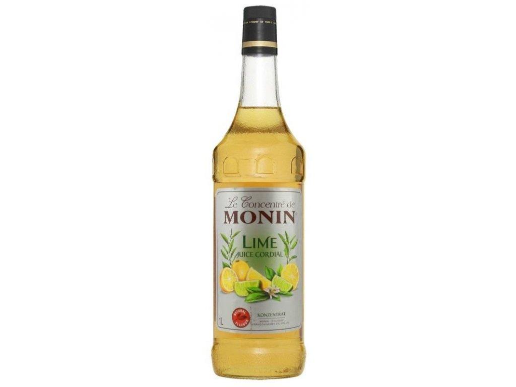 monin lime juice 1l