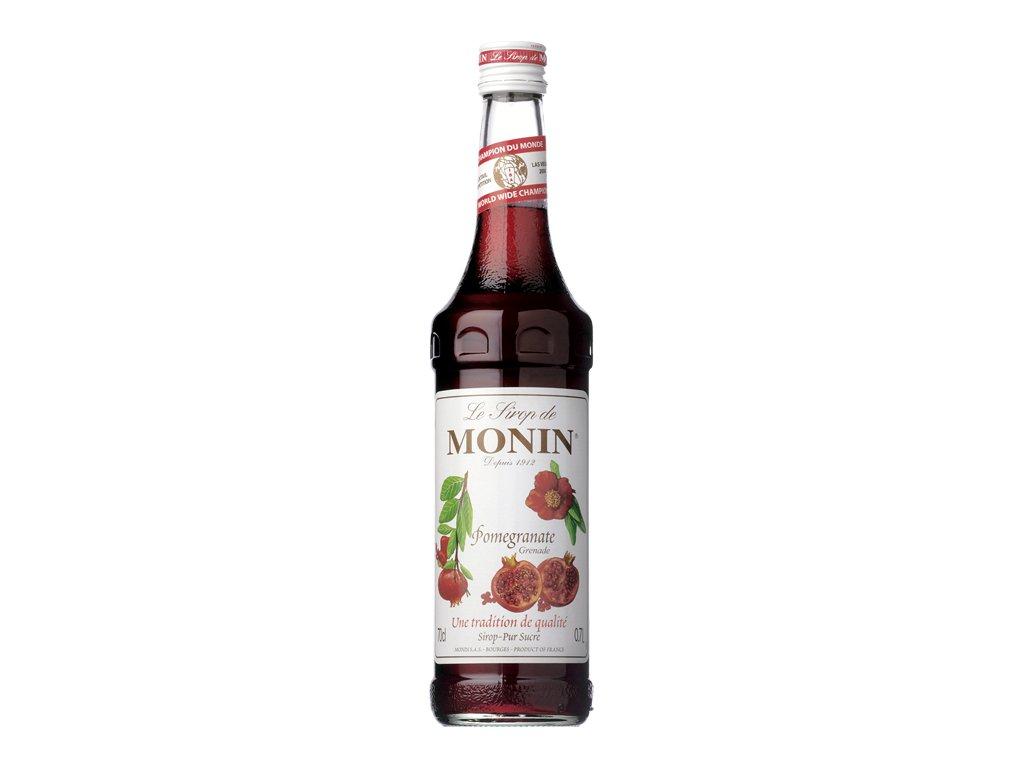 Monin pomegranate - granátové jablko 0,7 l