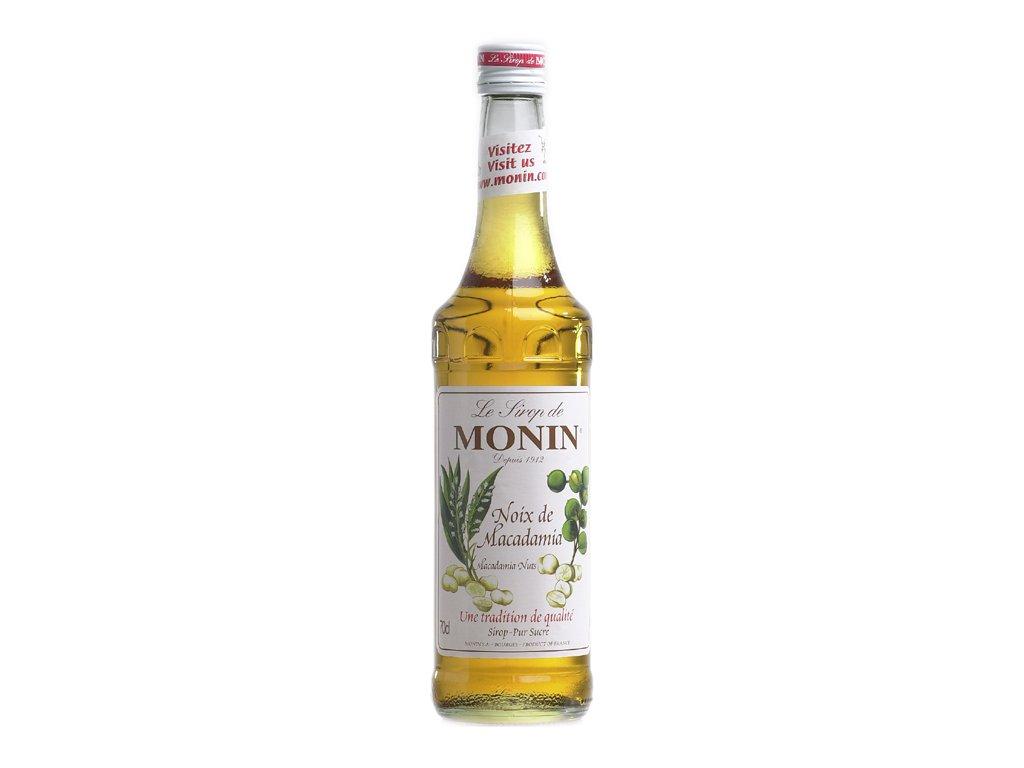 Monin macadamia nuts - makadamský oříšek 0,7 l