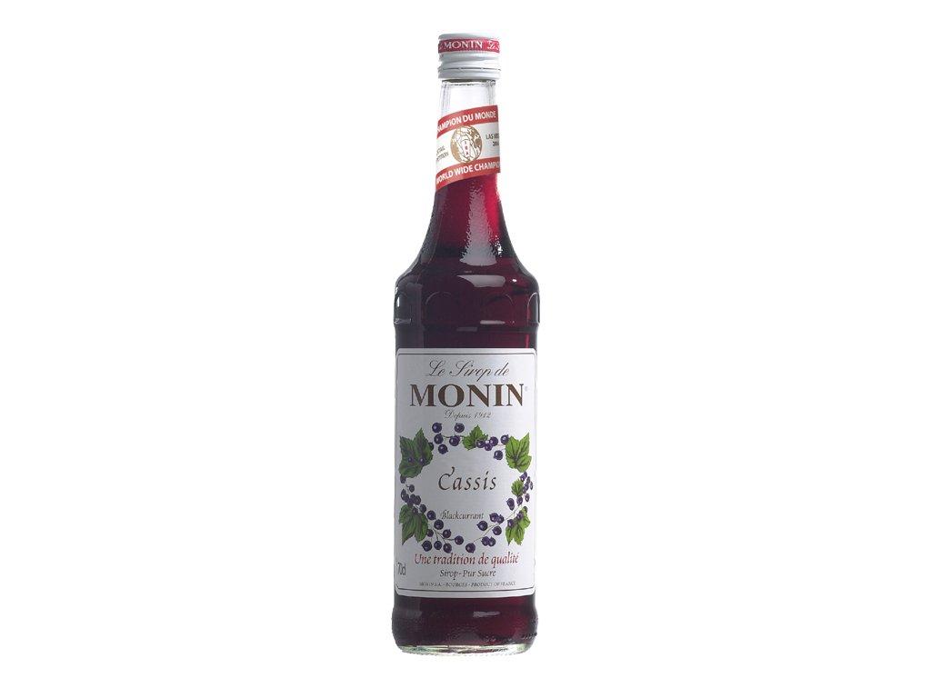 Monin cassis - černý rybíz 0,7 l