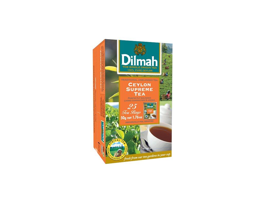 Čaj černý Ceylon Supreme 25sáčků DILMAH