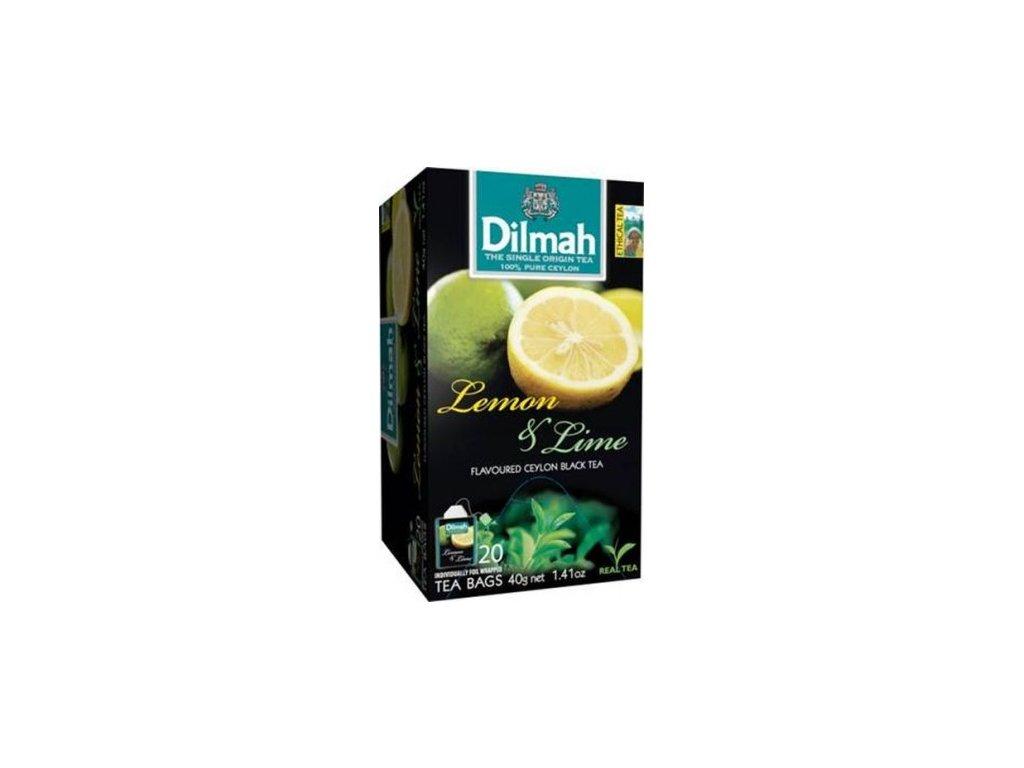 Čaj Limetka a Citron 20 sáčků DILMAH