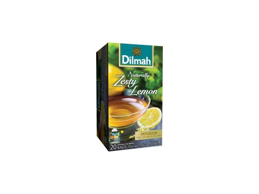 Čaj Naturally Zesty Lemon 20 sáčků DILMAH