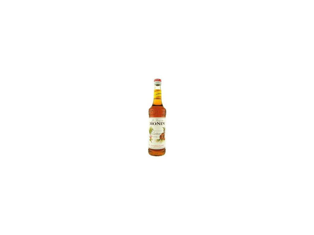 Monin Caribbean rum ( karibský rumový sirup)  0,7l