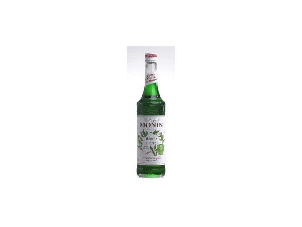 Monin Green Mint ( Zelená máta ) 0,7l