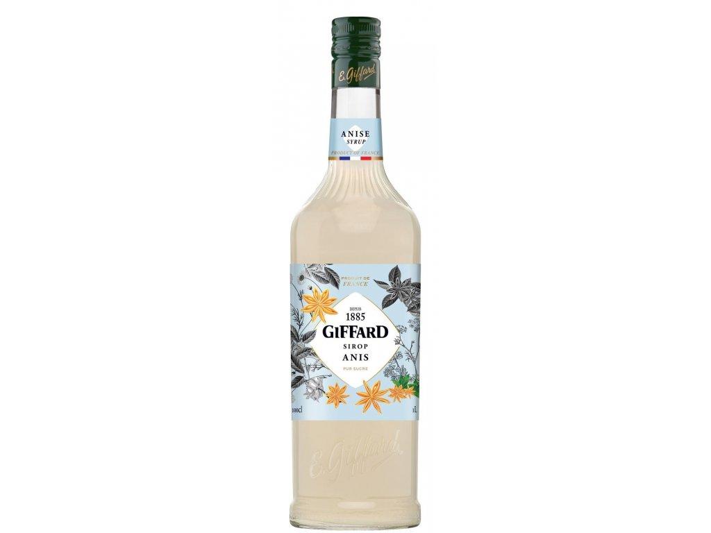 Giffard Anis - Anýzový sirup 1l