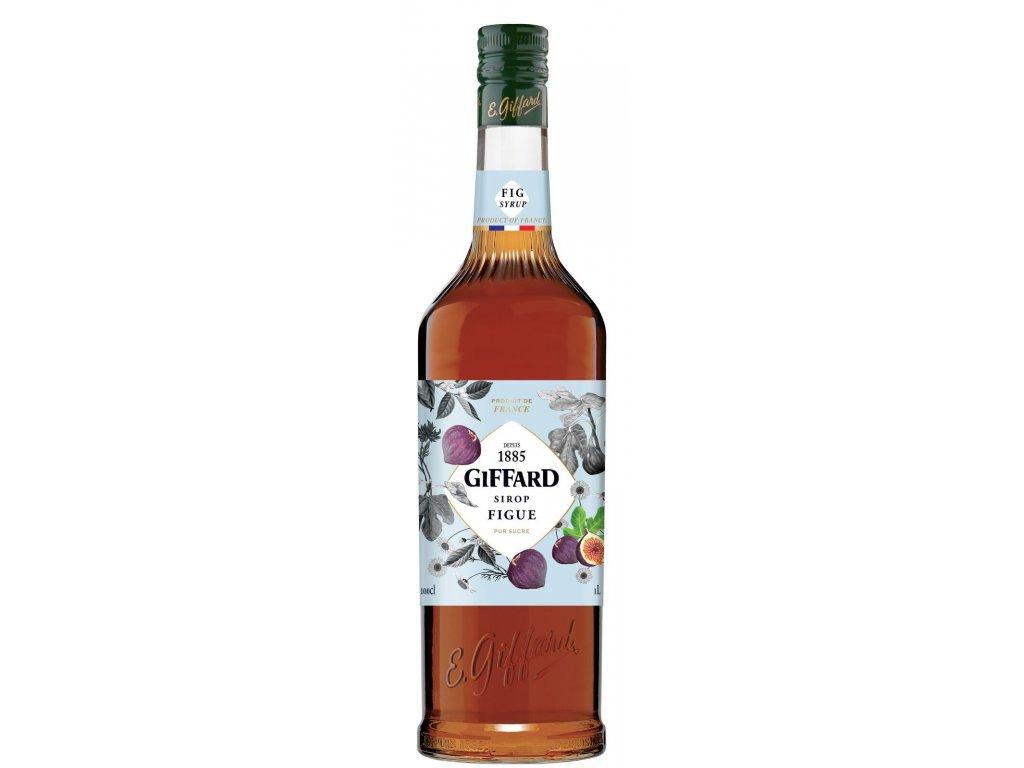 Giffard Fig- Fíkový sirup 1l