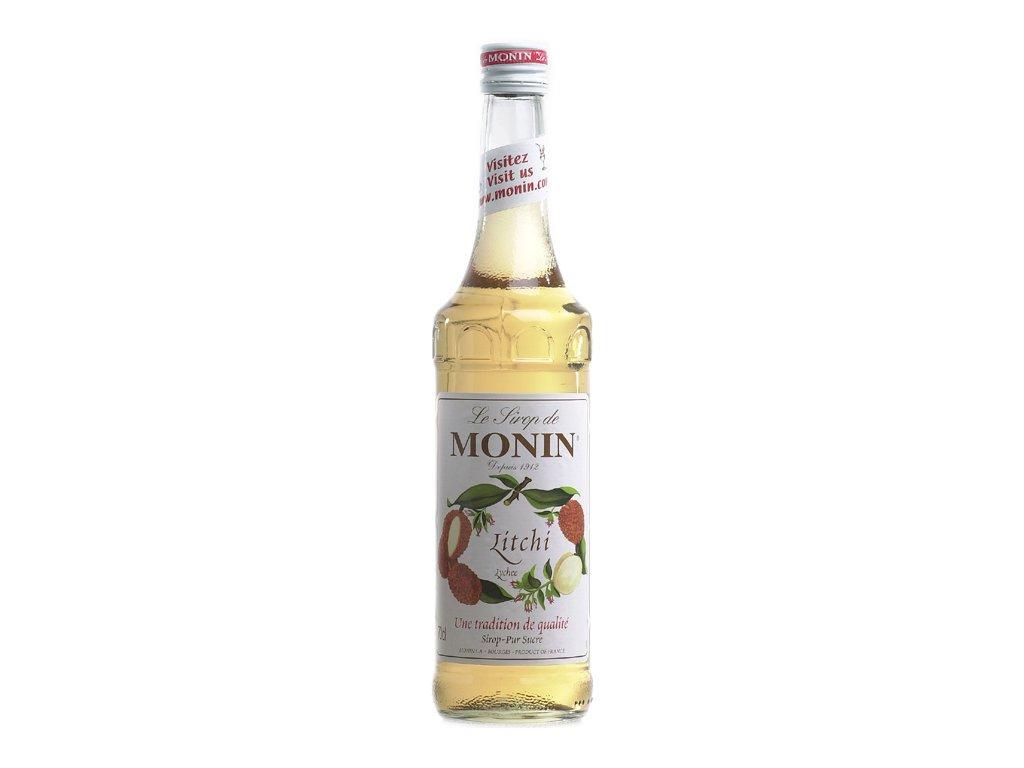 Monin Litchi - lychee 0,7 l