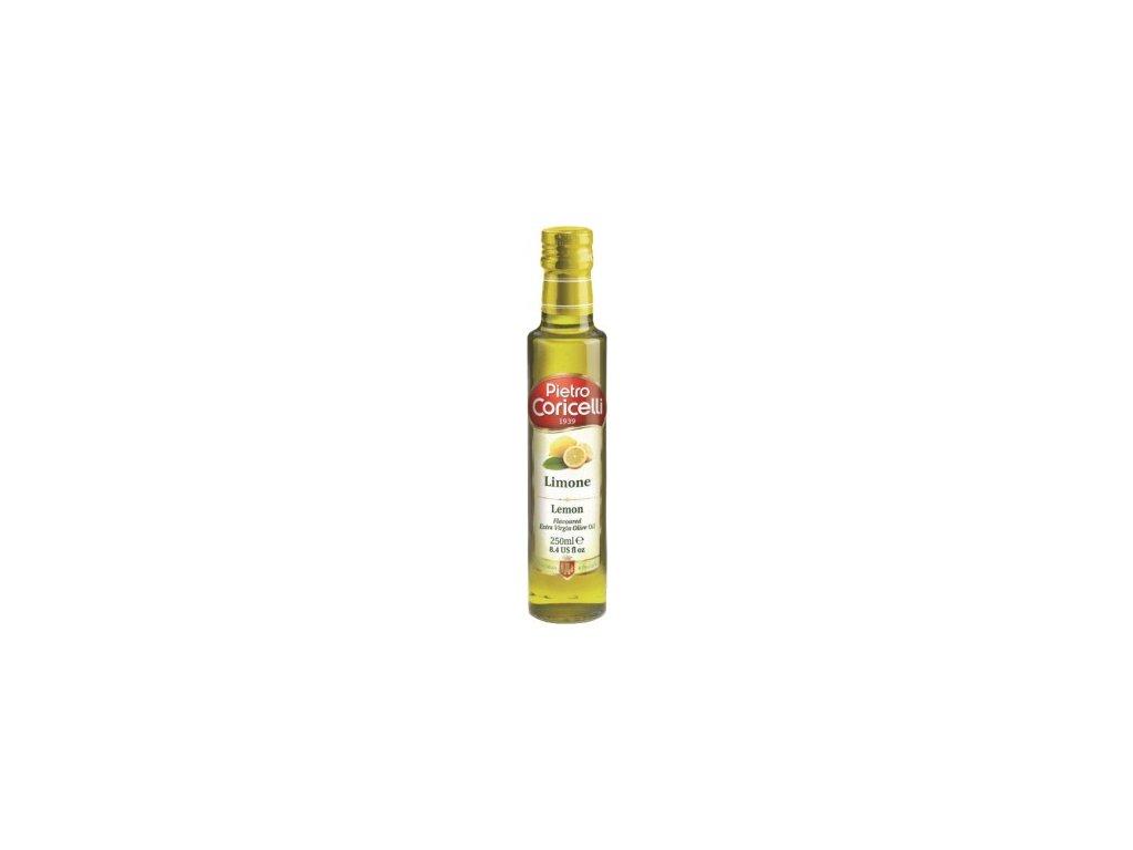 Olivový olej s citrónem extra panenský  0,25 l Pietro Coricelli