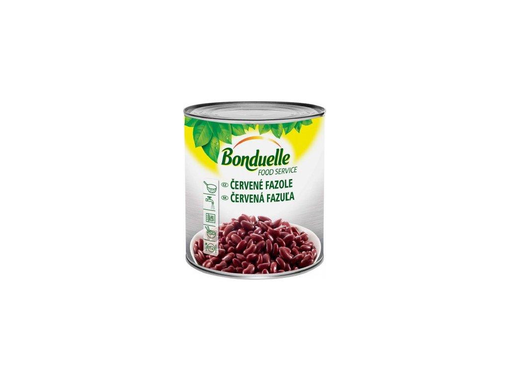 Fazole červená 2,5 Kg v nálevu Bonduelle