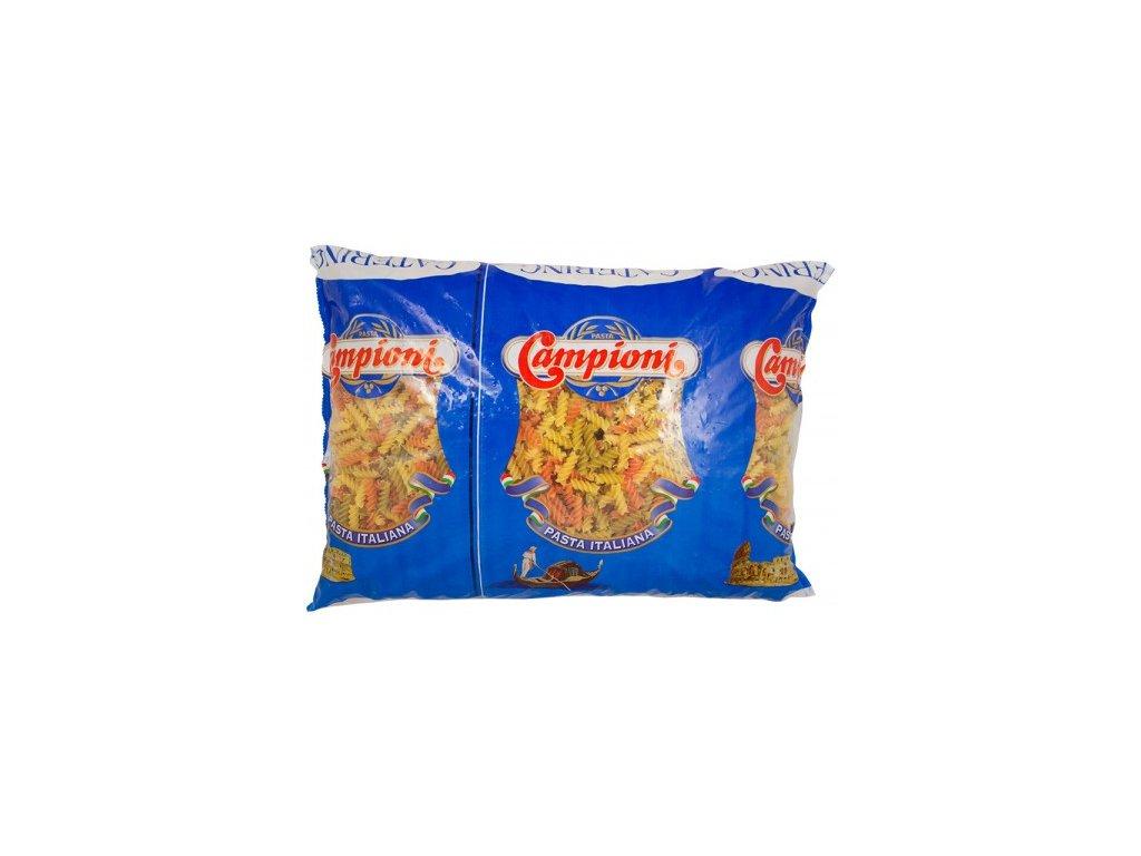 Těstoviny vřetena barevné 5 Kg Campi fusilli tricolori