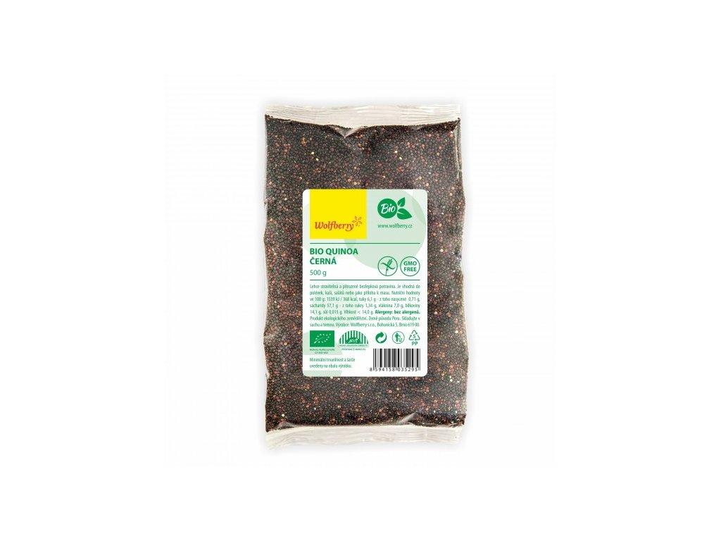 BIO Quinoa černá 500 g Wolfberry