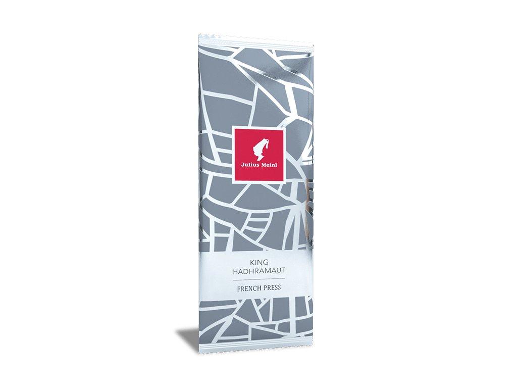 French press King Hadhramout káva 50x16,8g Julius Meinl