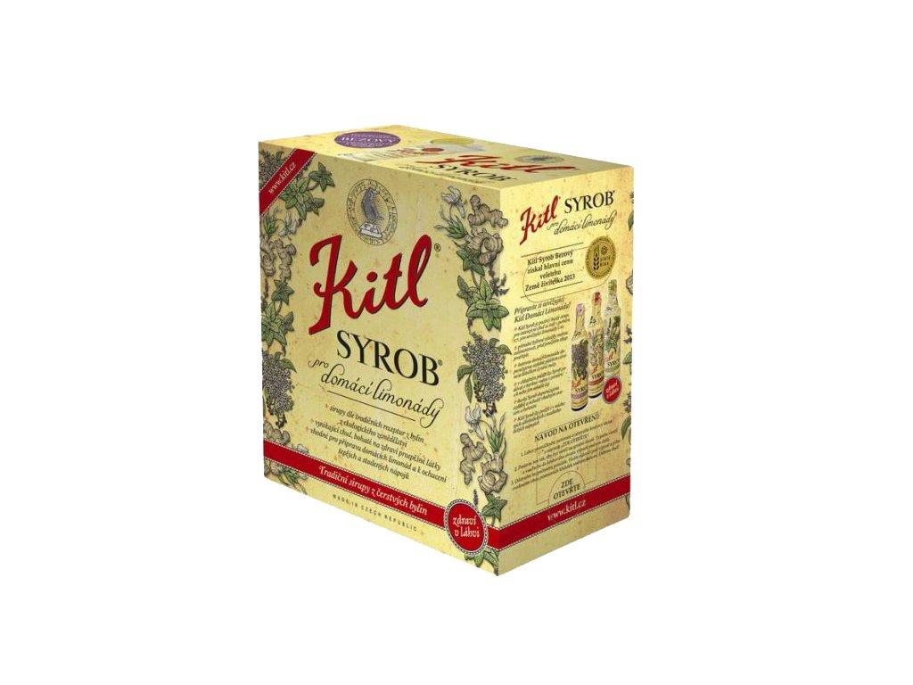 Syrob Višňový - višňový sirup 5l Kitl - velké balení