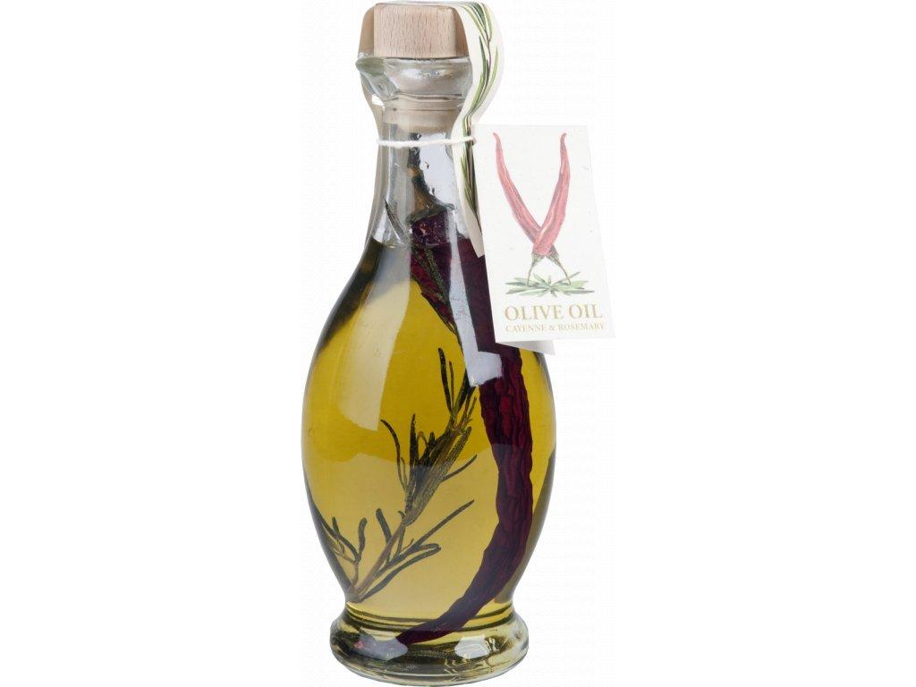 Olej cayen - rozmarýn 250ml