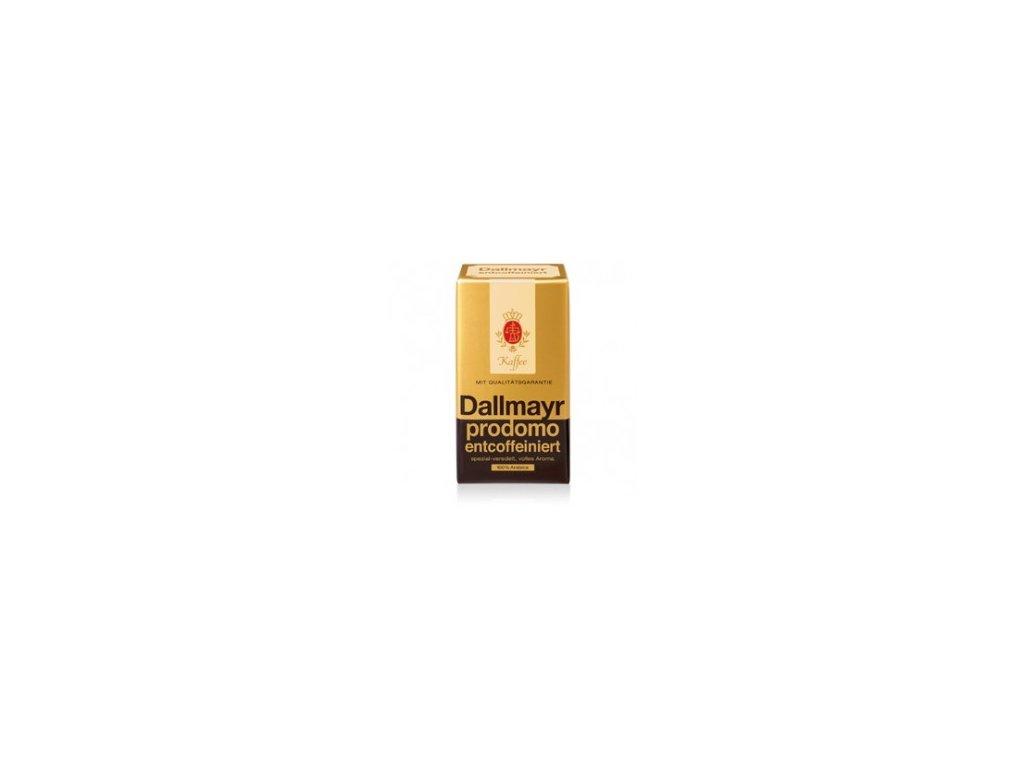 Káva Dallmayr Prodomo Entcoffeiniert - bez kofeinu - 500g zrno