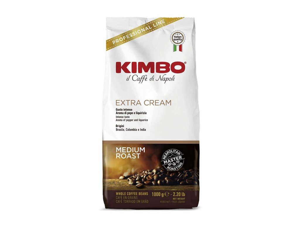 648 kava kimbo espresso bar extra cream zrnkova 1