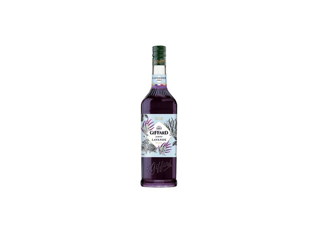 Giffard Lavender - levandulový sirup 1l