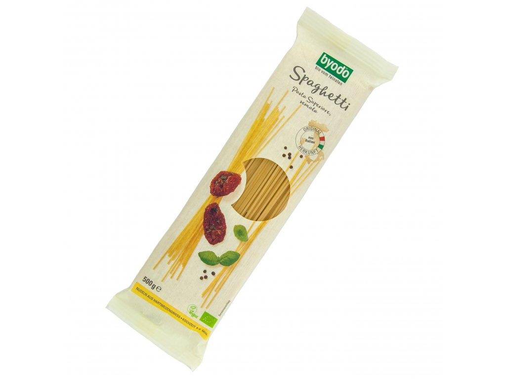 37676 spagety semolina bio 500 g byodo