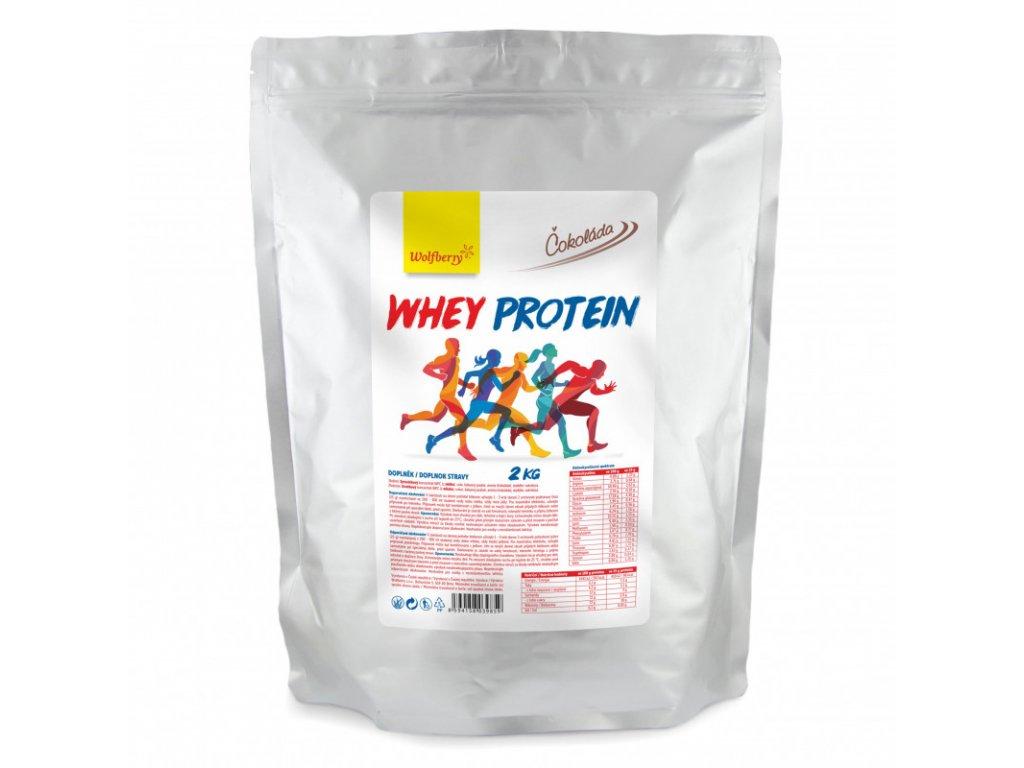 whey protein cokolada 2 kg wolfberry