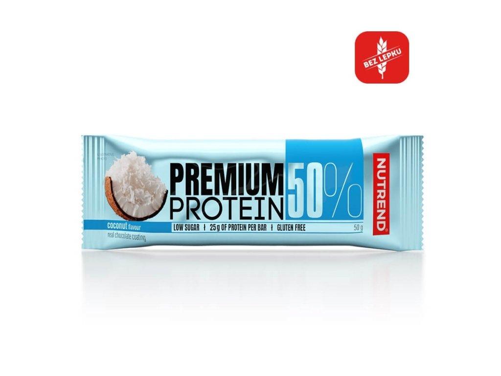premium protein bar coconut 2019 cz