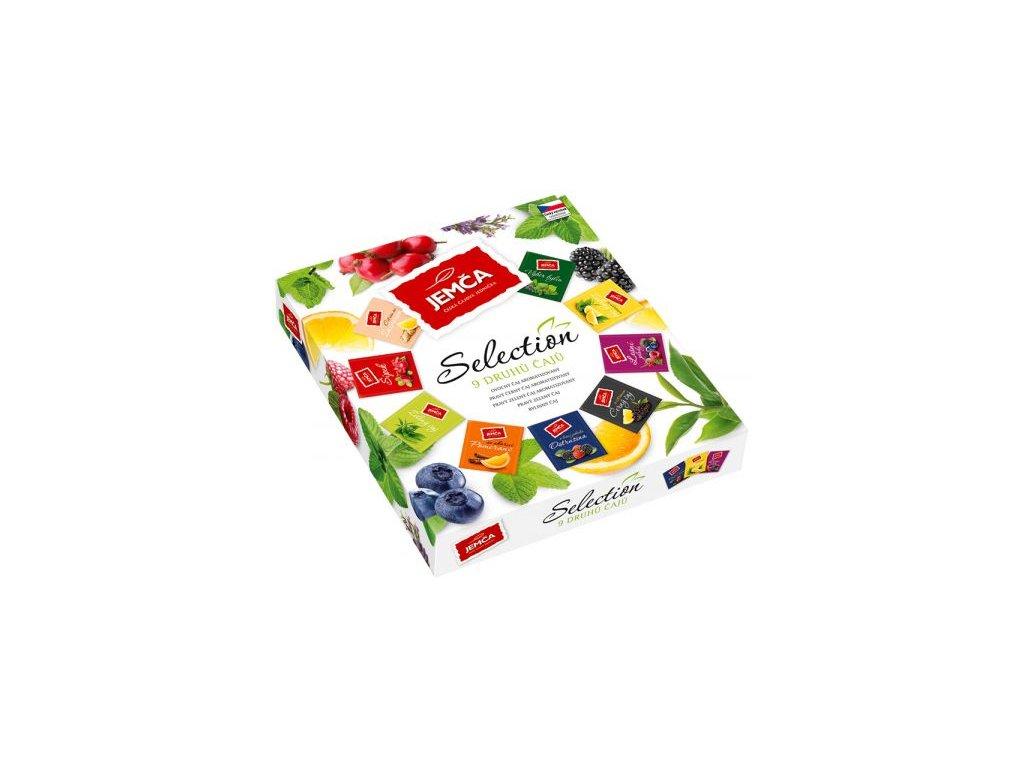 49385 selection kolekce 9 druhu ovocnych caju 36x2g jemca