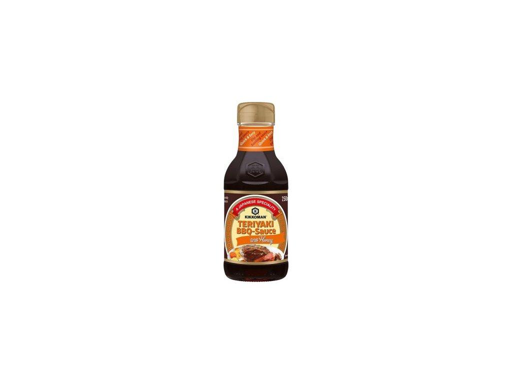 49880 teriyaki bbq sauce with honey teriyaki bbq omacka s medem 250ml kikkoman