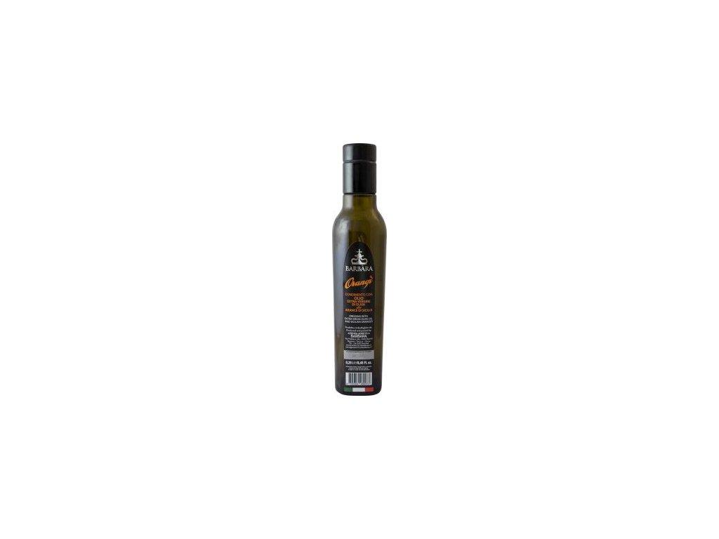 49964 orange olio extra vergine di oliva olej olivovy extra panensky 0 25l pomeranc agricola barbara